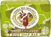 Tierra Mia Organics Raw Goat Mil Skin Therapy Fresh Coconut Body Soap Bar