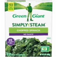 Green Giant Steamers Chopped Spinach