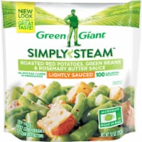 Green Giant Simply Steam Roasted Red Potatoes Green Beans & Rosemary Sauce