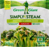 Green Giant Simply Steam Broccoli & Cheese Sauce Frozen Vegetables