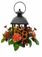 Thanksgiving Lantern Flower Arrangement