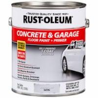 Rust-Oleum 225359 Concrete & Garage Floor Paint + Pimer Satin Armor Gray gal - 1 gallon each