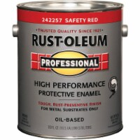 Rust-Oleum  Professional  Gloss  Safety Red  Oil-Based  Protective Paint  Exterior and - Case of: 2