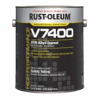 Rust-Oleum V7400 Alkyd Enamel,Safety Yellow,1 gal.  245479 - 1 gal.