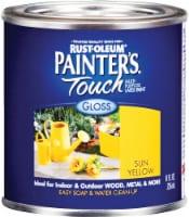 Rust-Oleum® Painters® Touch Sun Yellow Multi-Purpose Latex Gloss Paint - 8 fl oz