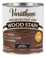 Varathane  Semi-Transparent  Dark Walnut  Oil-Based  Urethane Modified Alkyd  Wood Stain  1 - Count of: 1