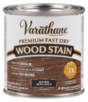 Varathane® Premium Fast Dry Dark Walnut Oil Based Wood Stain - 8 fl oz
