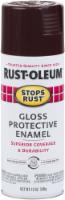 Rust-Oleum® Stops Rust® Kona Brown Protective Enamel Gloss Spray Paint - 12 oz