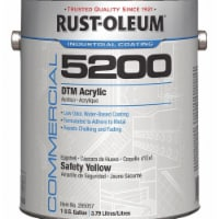 Rust-Oleum Interior/Exterior Paint,Safety Yellow  285057 - 1 gal.