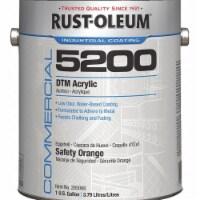 Rust-Oleum Interior/Exterior Paint,Safety Orange  285066 - 1 gal.