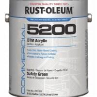 Rust-Oleum Interior/Exterior Paint,Safety Green  285069 - 1 gal.