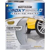 Rust-Oleum 292514 Clear High-Gloss Low VOC Premium Garage Floor Kit - 1 kit each