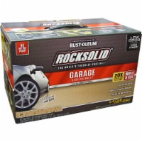 Rust-Oleum 293515 RockSolid Polycuramine 2.5 Car Garage Floor Coating Tan Kit - 1 kit each
