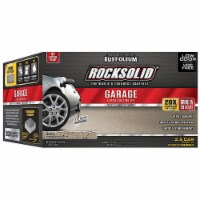 Rust-Oleum 293517 RockSolid Polycuramine 2.5 Car Garage Floor Coating Mocha Kit - 1 kit each