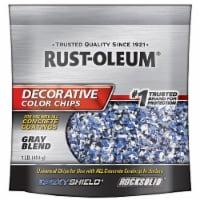 Rust-Oleum® Decorative Gray Blend Color Chips - 1 lb