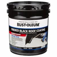 Rust-Oleum 301999 350 Fibered Black Roof Coating 5 gal - 5 gallon each