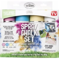 Testors Spray Chalk Set - Assorted