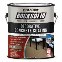 Rust-Oleum 306265 Rocksolid Decorative Concrete Coating multi color SAHARA gal - 1 gallon each