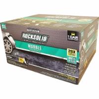 RockSolid Marble Floor Coating Kit industrial grade Stone Obsidian 1 Car Garage Kit - 1 kit each