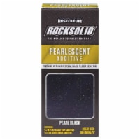 Rust-Oleum 306337 Rocksolid PEARL BLACK Pearlescent Additive 200-250 sq ft - 1 kit each