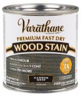 Varathane® Premium Fast Dry Carbon Gray Oil Based Wood Stain - 8 fl oz