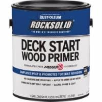 Rust-Oleum 312283 Rocksolid Deck Start Wood Primer CLEAR gallon - 1 gallon each