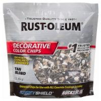 Rust-Oleum 312447 Decorative Color Chips Tan Blend 1LB - 1 pound each