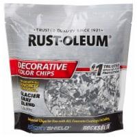 Rust-Oleum 312449 Decorative Color Chips Glacier Gray Blend 1LB - 1 pound each