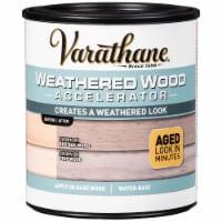 Rust-Oleum 313835 Varathane Weathered Wood Accelerator 32oz - 32 ounce each