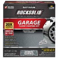 Rust-Oleum RockSolid VOC Free Garage Floor Coating Kit, Dark Gray, 90 Oz. 317286 - 90 Oz.