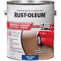 Rust-Oleum Concrete & Garage Floor Paint & Primer, 1 Gal., Deep Base 319550 - 1 Gal.