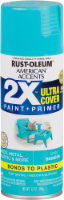 Rust-Oleum American Accents 2X Ultra Cover Gloss Spray Paint - Seaside