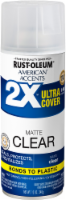 Rust-Oleum American Accents 2X Ultra Cover Matte Spray - Clear
