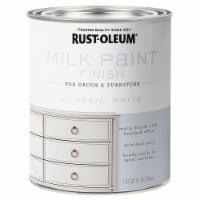 Rust-Oleum 331049 Milk Paint Finish CLASSIC WHITE qt - 32 ounce each
