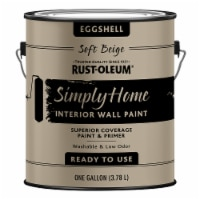Rust-Oleum® Simply Home Soft Beige Eggshell Interior Wall Paint - 1 gal