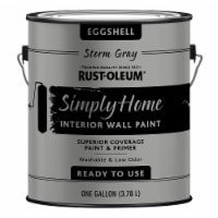 Rust-Oleum® Simply Home Storm Gray Eggshell Interior Wall Paint - 1 gal