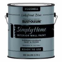 Rust-Oleum® Simply Home Eggshell Interior Wall Paint - Lakefront Blue - 1 gal