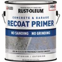 Rust-Oleum Garage & Concrete Recoat Floor Primer, Semi-Transparent Gray, Gal - 1 Gal.