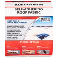 Rust-Oleum 345651 Self Adhering Roof Fabric 4  X 25' Roll - 1 each