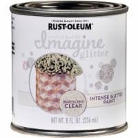 Rust-Oleum Imagine Craft & Hobby 8 Oz. Intense Iridescent Glitter Paint 345700 - 8 Oz.
