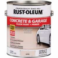 Rust-Oleum Concrete & Garage Floor Paint & Primer, 1 Gal., Sand 347121 - 1 Gal.