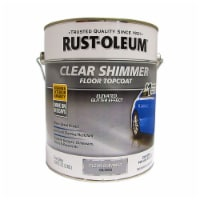 Rust-Oleum 348192 Floor Topcoat Clear Shimmer Gloss gal - 1 gallon each