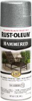 Rust-Oleum® Stops Rust® Hammered Silver Spray Paint - 12 oz