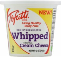 Tofutti Non-Hydrogenated Whipped Dairy Free Cream Cheese