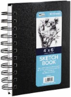 Pro Art Sketch Book 4 X6 -80 Sheets - 4 x 6 in