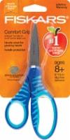 """Fiskars® New SoftGrip® 6"""" Big Kids Scissors - Blue"""