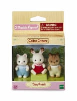 Calico Critters Baby Friends Triplets Set