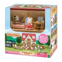 Calico Critters Red Roof Cozy Cottage Doll Set