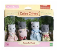 Calico Critters Persian Cat Family - 4 ct
