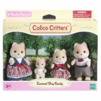 Calico Critters Caramel Dog Family Set